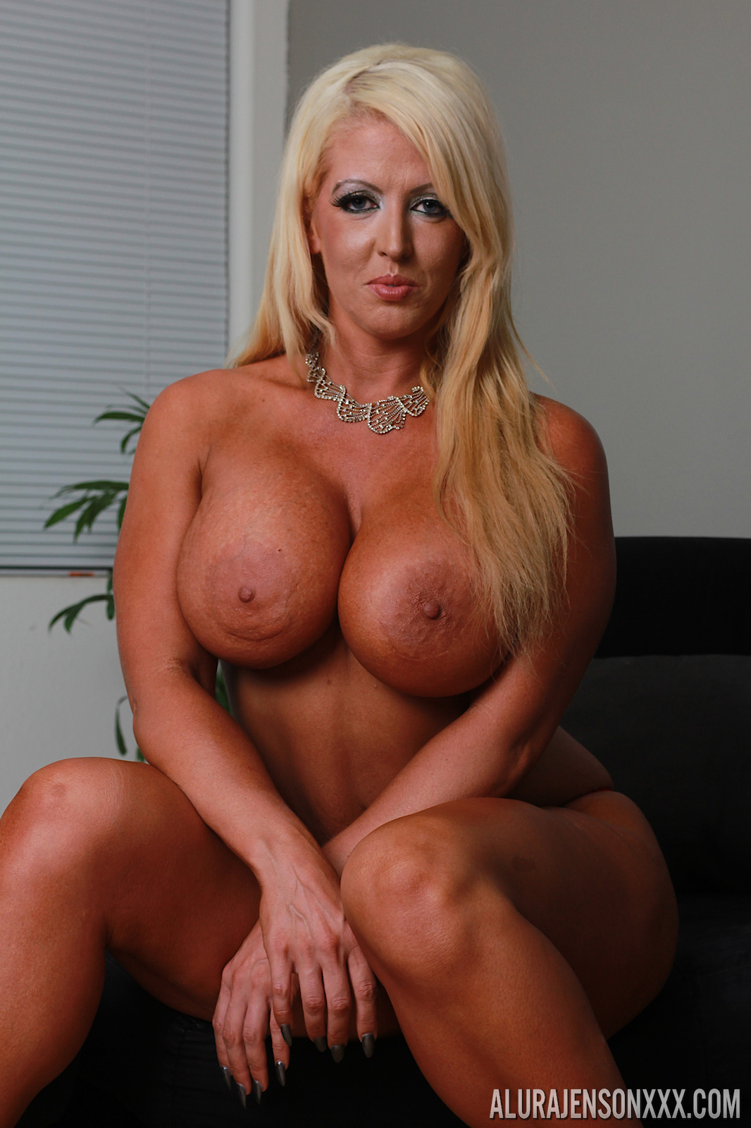 With fake tits milf tan lines