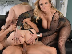 Kate Frost in Legendary Threeway Fu...