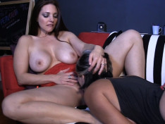 Mindi Mink in Kissing & More with M...